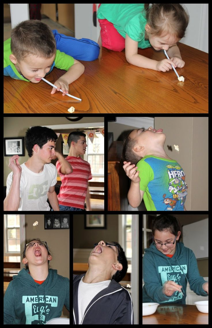 The Popcorn Olympics ~ Fun Activity for Kids! (she: Veronica) - Or so she says...