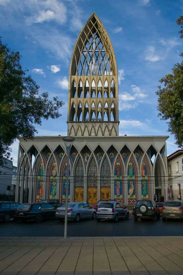 Catedral San Mateo, Osorno, Chile. // San Mateo Cathedral, Osorno, Chile.