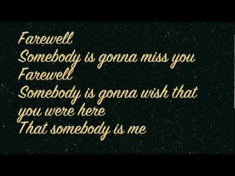 Rihanna - Farewell (Lyrics on screen) HD - YouTube #RIPDaddy September 8,2013