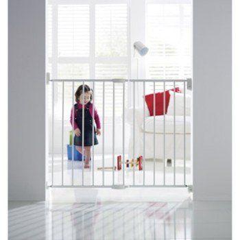 Barrière de sécurité enfant MUNCHKIN métal, L.63.5/102 cm, H.68 cm | Leroy Merlin