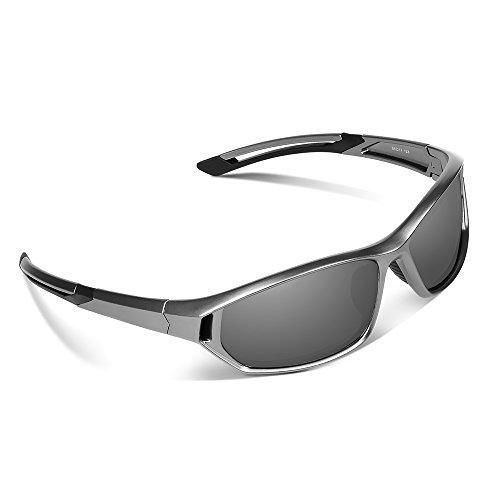 Oferta: 17.99€ Dto: -64%. Comprar Ofertas de Ewin E31 Gafas de Sol de Deporte Polarizadas, UV400 Protección, Gafas Irrompibles (Plateado y Gris) barato. ¡Mira las ofertas!
