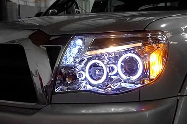 Toyota Tacoma Headlights - Traveling at night is a pleasure. With that alone, I could look ahead of time to maneuver.