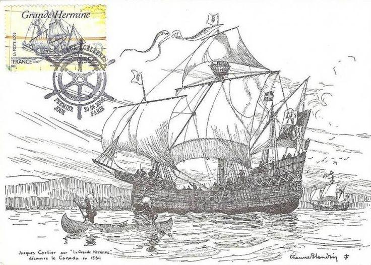 Grande Hermine корабль Картье