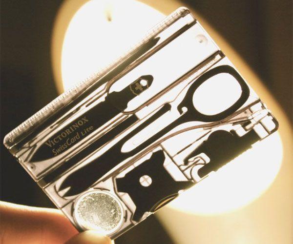 Victorinox Swiss Card Pocket Multi Tool - #Gadgets #Gear #Design #Cool | CoolShitiBuy.com