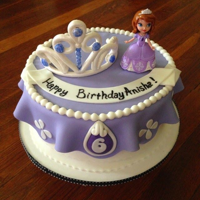 Sofia The First Cake Topper Set