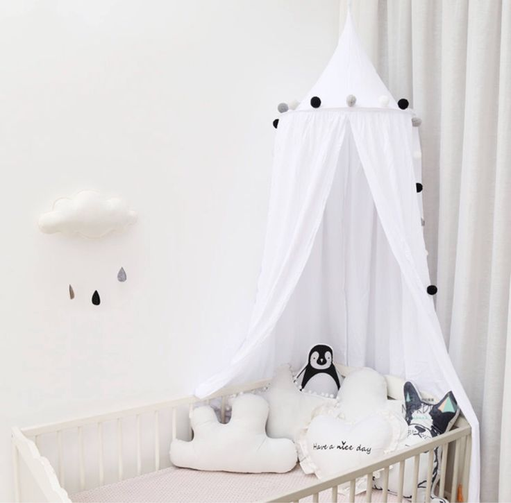 Bed Canopy Play Room Kids Tent Home Decor