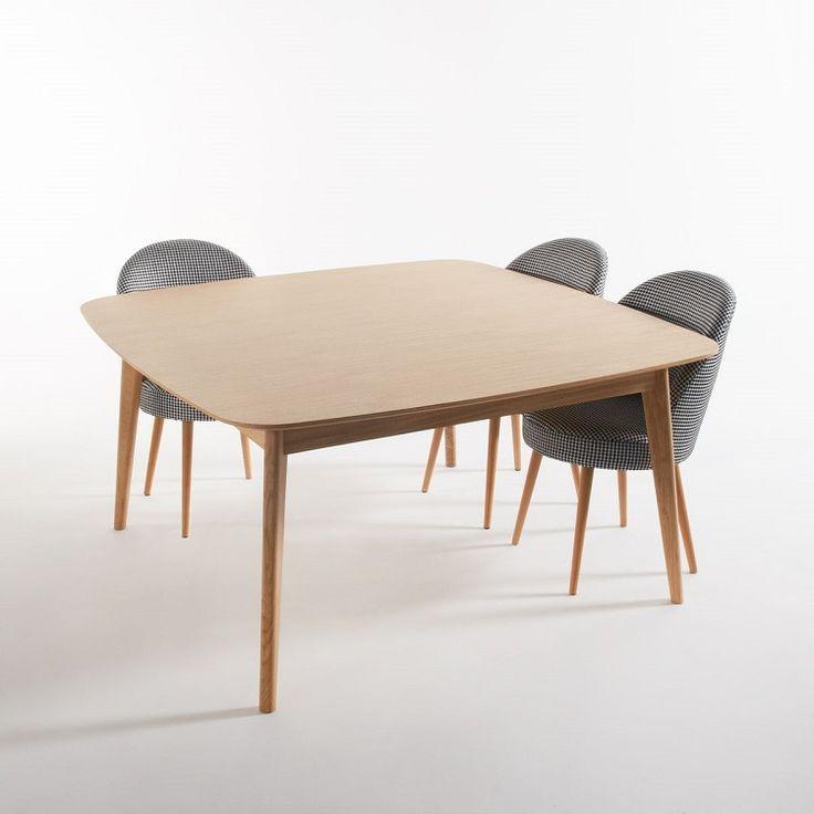 Les 486 meilleures images propos de meubles et d co la - Table carree 8 couverts ...