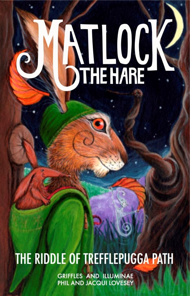 Matlock the Hare. Enter Winchett Dale Magical book