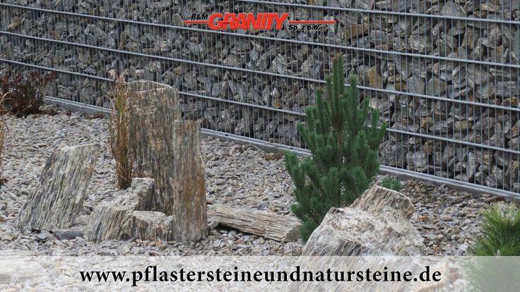 Firma B&M GRANITY - Ziersteine / Gneis 63-250 mm für Gabionenkörbe... Natursteine aus Polen...
