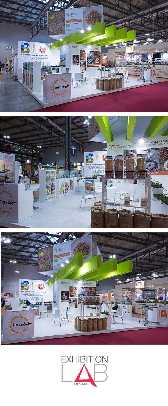 Progetto realizzato per Barberini Allestimenti – Sana Bologna 2014 #Exhibition #stand #fiere #standfieristici #sana #bologna #progettazione