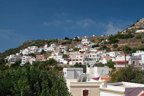 Othos Village located aroun 600 meters above sea level. spectacular view of Pigadia