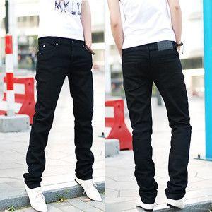 Продажа новый год подарок мужчины самостоятельно джинсы карандаш брюки ноги штаны мужские узкие джинсы брюки оптовая торговля розничная торговля и dropship