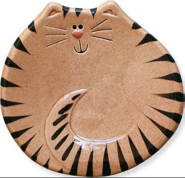 Tiger Cat Spoon Rest: Amazon.com: Cocina y comedor