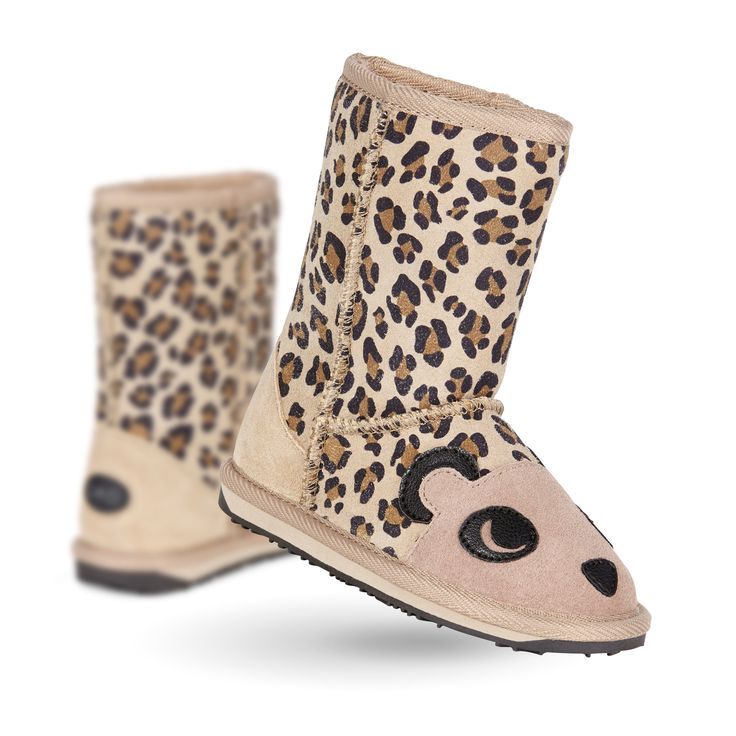 Cheetah Kids Deluxe Wool Boot- EMU Australia