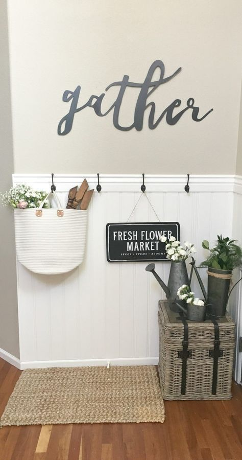 Our Summer Entryway