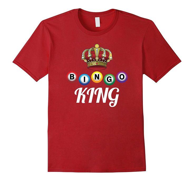 Bingo King Funny Bingo Tee Bingo Player Gift T Shirt
