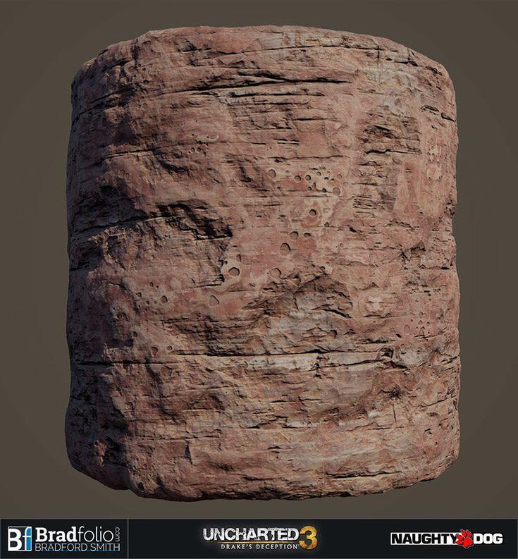 ArtStation - Uncharted 3: Basic Material Samples, Bradford Smith