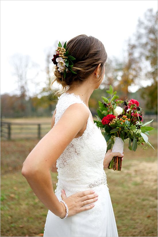 wedding hair ideas | outdoor wedding ideas | fall wedding palette | #weddingchicks