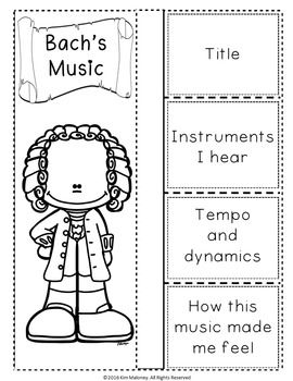 BACH & HIS MUSIC: FOLDABLES   This file contains TWO different FOLDABLES in BOTH COLOR AND B/W  1.MEET BACH FOLDABLE: Students' record facts they have learned about BACH  2.BACH'S MUSIC: This foldable is a perfect accompaniment to foldable 1, or can be used on its own to respond to Bach's music during a listening lesson!   ♫  CLICK through to preview or save for later!  ♫