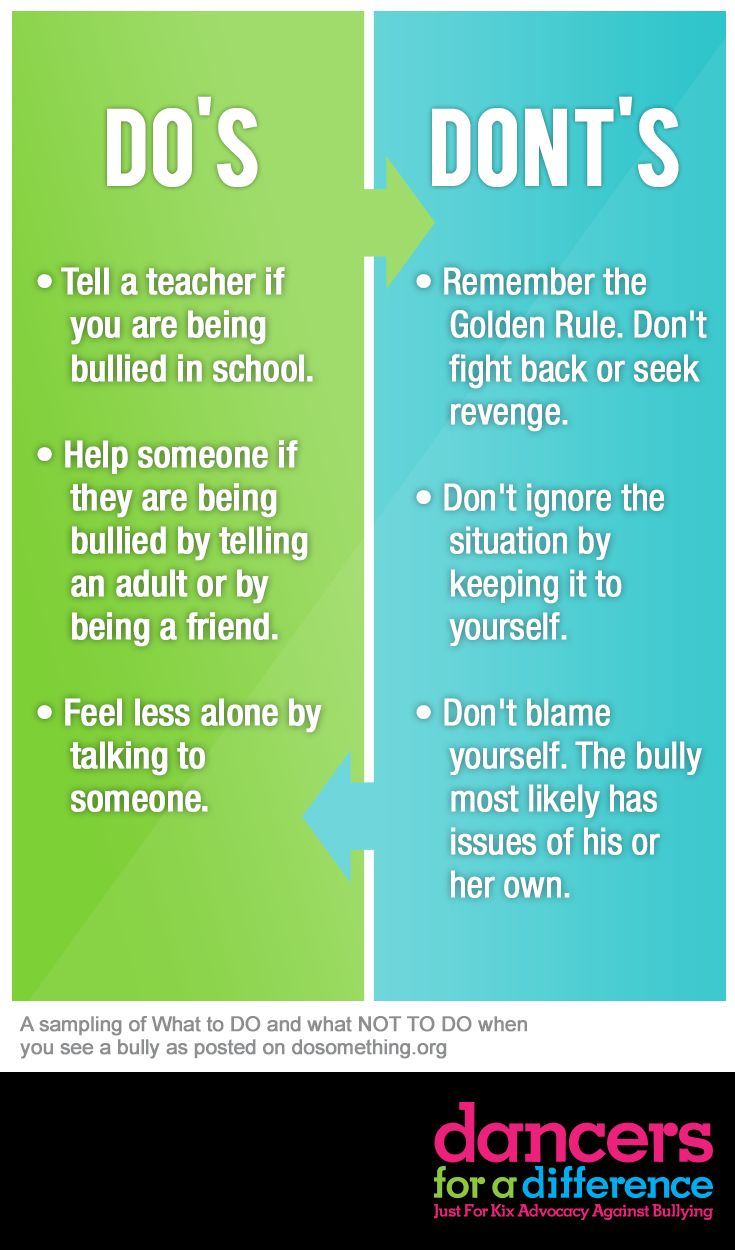 Do's & Dont's. Learn more at: https://www.justforkix.com/dancersforadifference