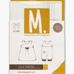 Patroon 'Lila Dress & Jumpsuit' Compagnie M.