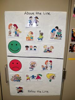 Rules Chart for non-readers- Inspired by Kindergarten: classroom management #ClassroomManagement