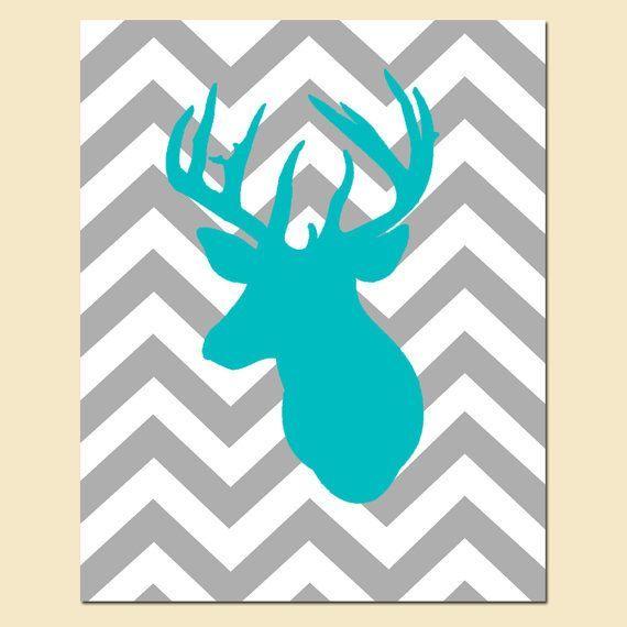 modern deer pictures