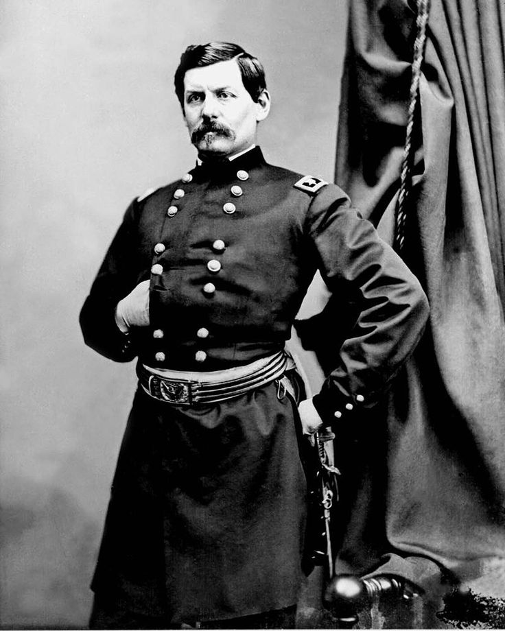 George B McClellan - retouched - Battle of Seven Pines - Wikipedia