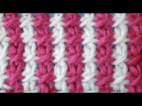 Tunisian Crochet Pattern (Russian with English subtitles... Deb)