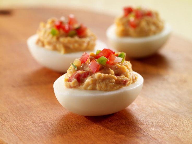 A salsa deviled eggs recipe
