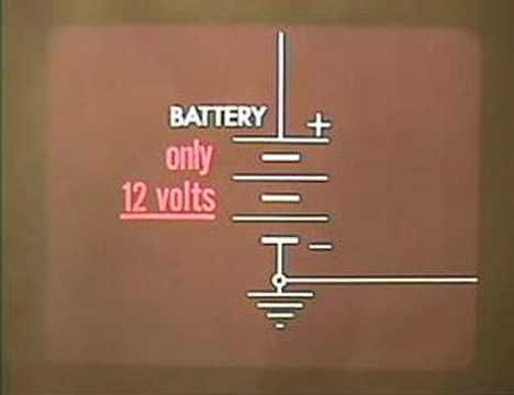 Vintage VW Training Film - Ignition Timing Part 1