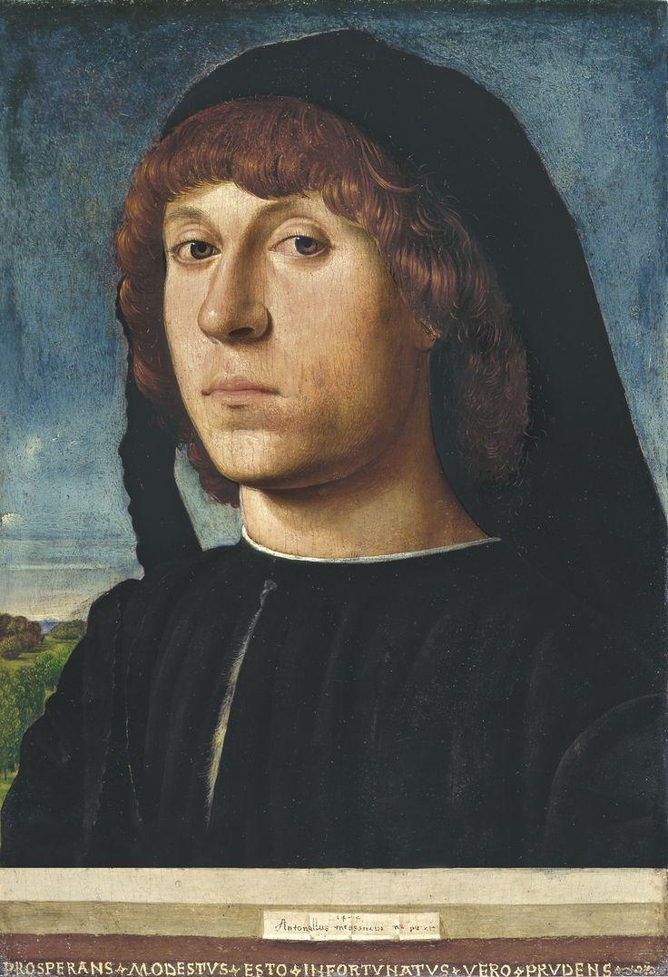 Antonello da Messina, portrait d'un jeune homme