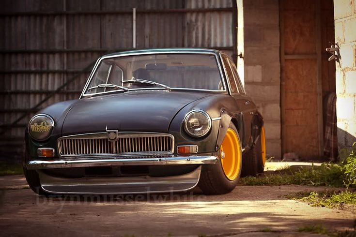 Seeing more and more really nice MGB GT's lately