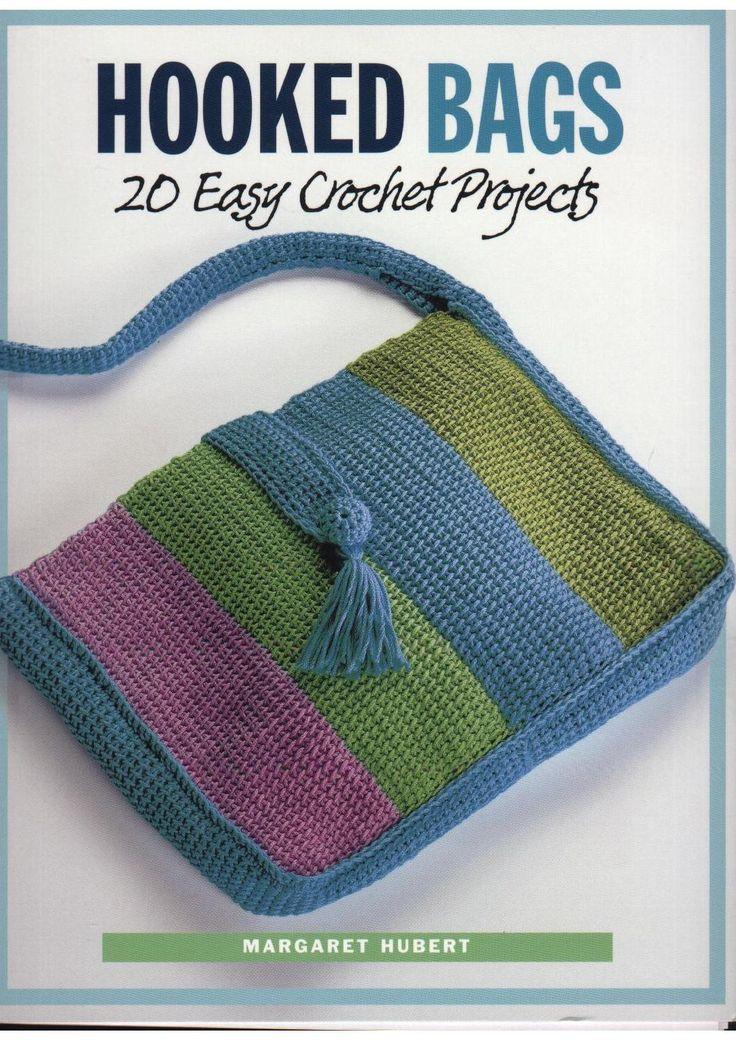 ISSUU - Crochet margaret hubert hooked bags 20 easy crochet projects by Margi