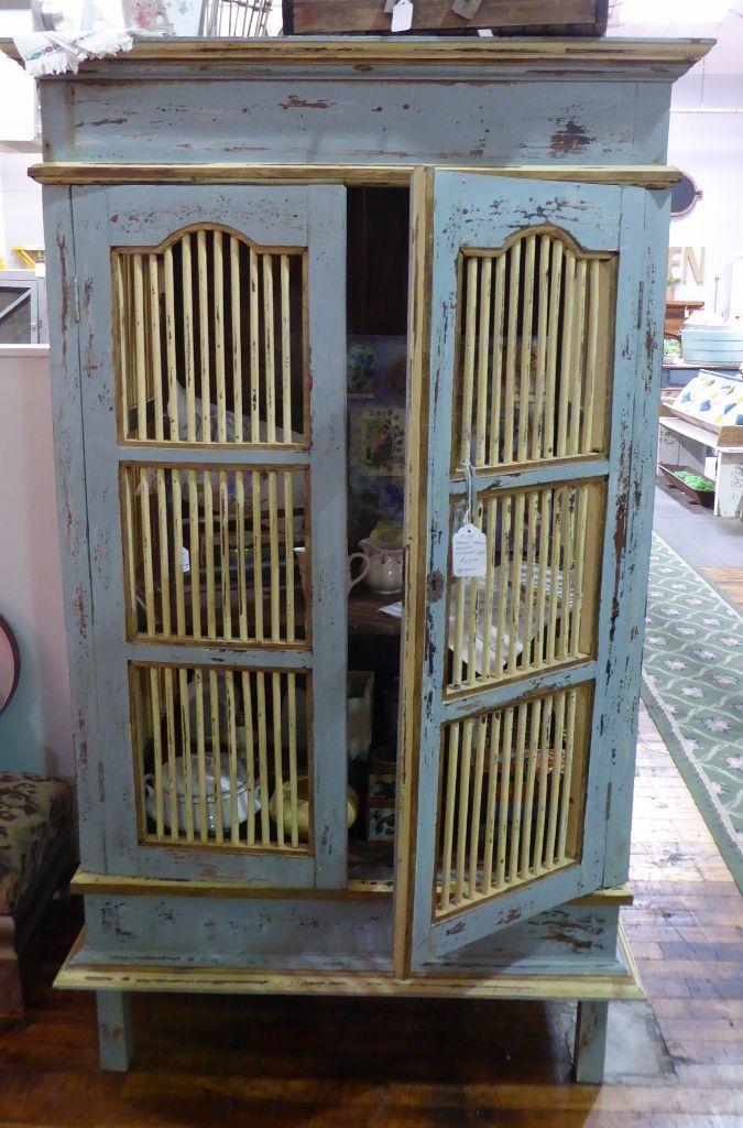 Tropical Armoire w Key, Booth 137 - $550.00. | Strasburg ...