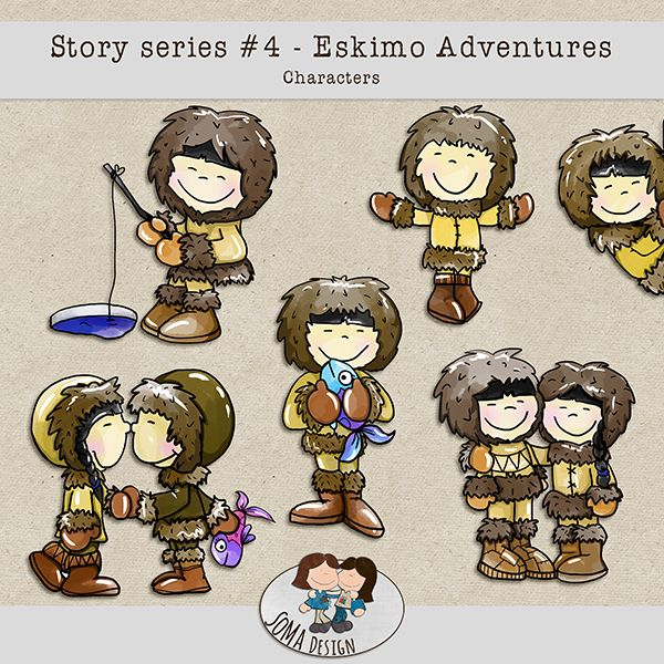SoMa Design Eskimo Adventures Characters