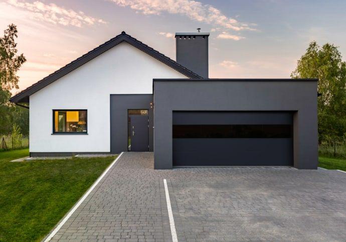 Modern Contemporary Garage Doors Modern Exterieur Huisstijl