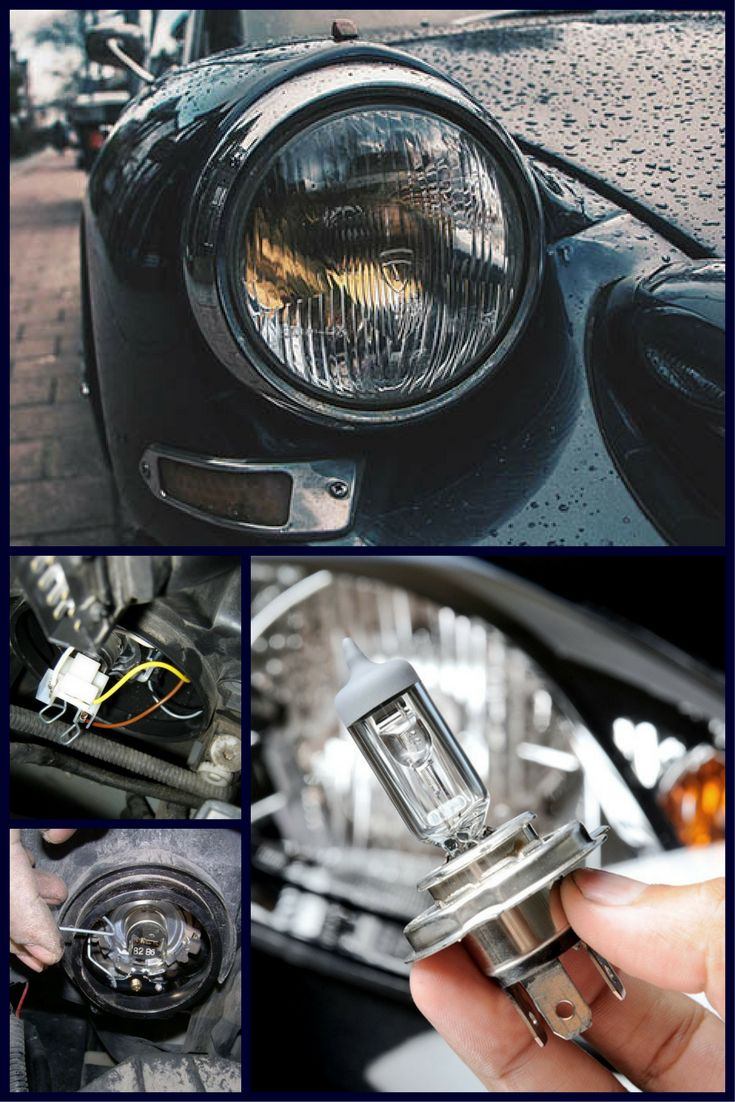4 easy steps to change your car headlight bulb