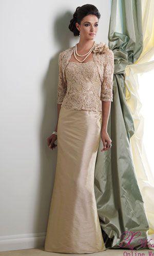 Mother of the Bride Dress. Would prefer shorter length.