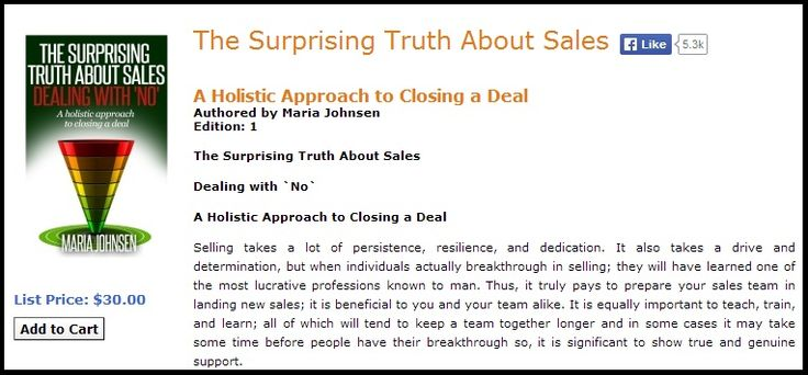 the selling process essay This phase of the selling process is known as feature-benefit selling although feature-benefit selling can occur at any time during the selling process, it should always occur during the sales presentation as part of the sales dialogue.