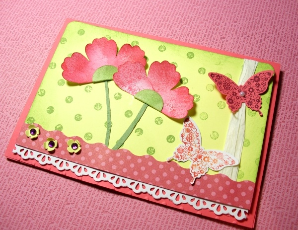 Blumenkarte, Flowercard