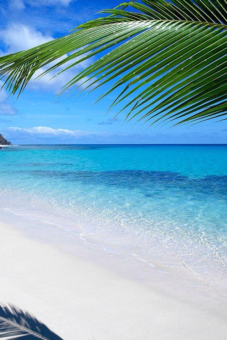 Weu0027re on a private island in Fiji