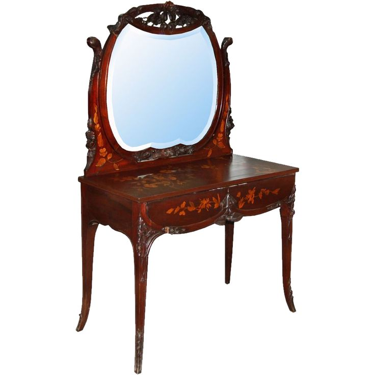 7386 Antique C American R J Horner Mahogany Inlaid Vanity - 67 Best Vintage Vanity Images On Pinterest Vintage Vanity