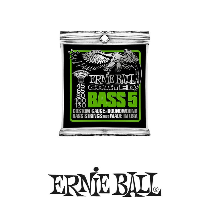 Ernie Ball 3836 Coated Bass Strings - 5 String