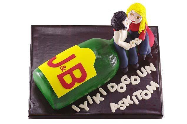 J-B Şise pastası