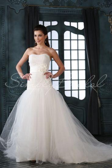67efc241667 Sylvia Gown - Mermaid Trumpet - Silhouette - Simply Bridal