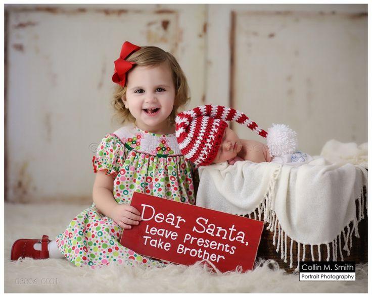 03806_0001fb  Christmas newborn, Sibling with newborn