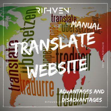 Manual Translate Website