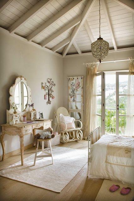 Jurnal de design interior - Amenajări interioare : Amenajare elegantă pentru camera unei fete
