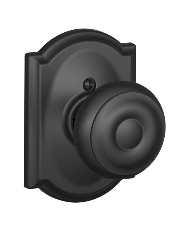 Schlage F170 Geo Cam Single Dummy Georgian Door Knob With